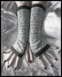 Sibylle's Snow Arm Warmers by ZenAndCoffee
