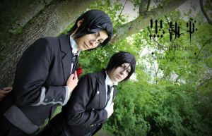 Back to Black - Butler Style by BellaKiyu