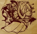 Leonidas king of the Espartans by petipoa