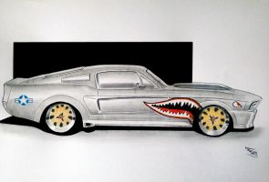 SHELBY GT500 ELEANOR P40 by svkustom