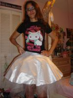 Madoka Magical girl outfit (wip) Puffy skirt by Gubreez
