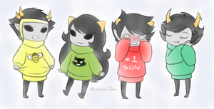 Ugly Sweaterses by BubblesTea