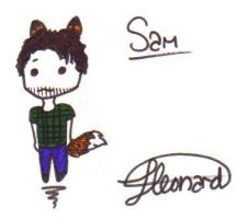 Sam Merlott True Blood Chibi by Xxvampire-kitsunexX