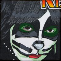 Peter Criss Painting 3 of 4 by obsessiveone1