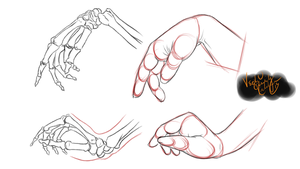 Gesture Practice : Hands Part 3 by minktee