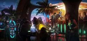 At The Seaside Cantina by Kuren