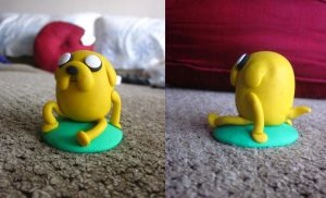 Jake the Dog by PokeSculpt-a-Mon