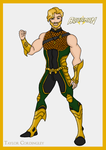 Justice League - Aquaman Redesign by Femmes-Fatales