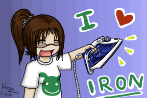 I Heart Iron by Xantaria
