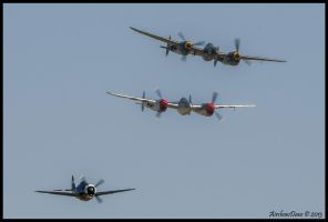 Two Plus One by AirshowDave
