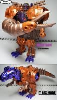 Beast Wars figures: Megatron -Transformers- by Lugnut1995