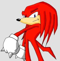 Knuckles the Echidna by Manuverse