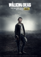 Rick Grimes Poster The walking dead by twdmeuvicio