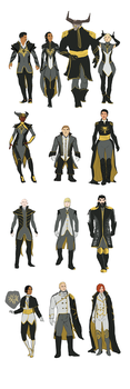 Inquisition Formal Outfits by jadenwithwings