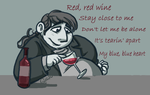 Red, Red Wine by Kaaziel