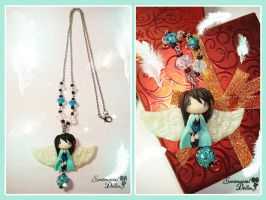 Final Fantasy Rinoa Necklace by SentimentalDolliez