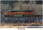 BNSF SD70MAC 8988 by hunter1828