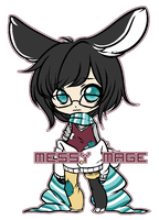 [ Auction ] Messy Mage [ Closed ] by acopic