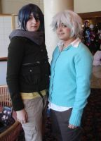 Nezumi and Shion by ravenqueen22
