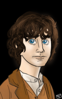 Frodo Painting by themollyb