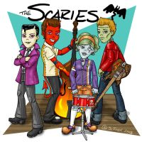 Scaries - The Band by Shannanigan