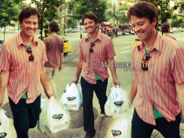 Misha Collins by Nadin7Angel