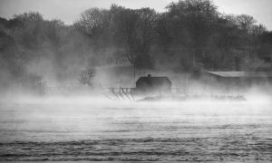 River Bann in winter II by younghappy