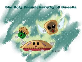 Holy French Trinity of sweets by x-Dragonqueen-x