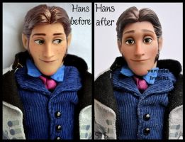 repainted ooak hans doll. - hans in love. by verirrtesIrrlicht