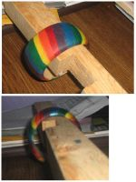 Rainbow Bangle by Kinetic-Passion