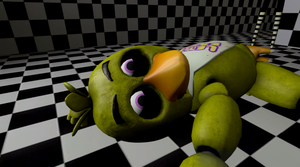 Chica's Pizza Overdose by gold94chica