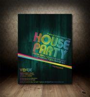 House Party Flyer by chemicalviper