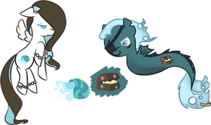 CUSTOMS:Water Ponies by favouritefi
