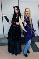 Cybelle Dehamphir and Elizabeth Vice by Takeshi-Toga