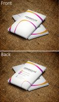 Colorful Business Card by SMHYLMZ