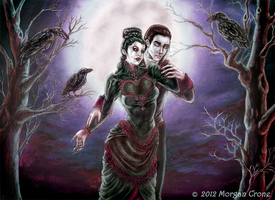 Suspiria -Commission for Deep Midnight Perfumes- by MorganCrone