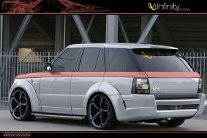 range rover, infinity edition by dig1taldemon
