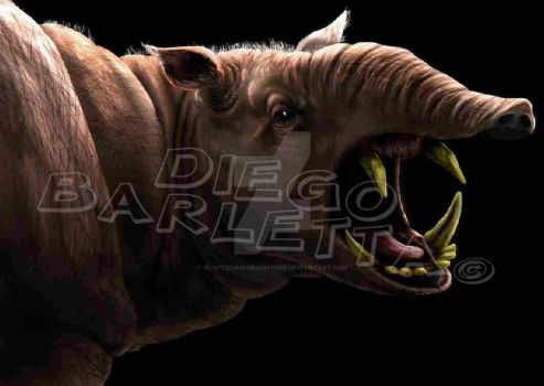 Astrapotherium by Glyptodon-graphycus