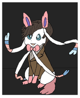 Sylveon as the Doctor by PhoenixWarrior12
