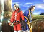 Angelo and Marcello DQ8 by kazuki3