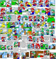 super mario bros page 17 by Nintendrawer