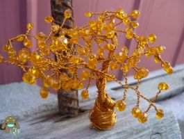 Thorn Acacia Wire Tree 2 by RoodleKaboodle