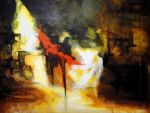 My art- 'Abstract Rembrandt' by PNAGANO