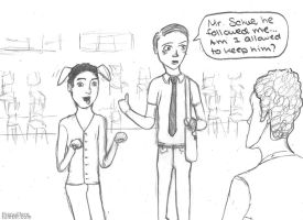 Blaine joining New Directions by TheCuillere