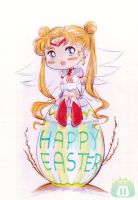 Easter Bunny by unconventionalsenshi