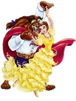 The Beauty and the Beast by ireprincess