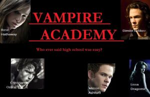 Vampire Academy Movie Poster by vampireacademy168