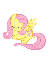 Fluttershy Is Fast Asleep by Shho13