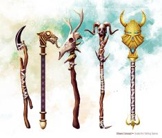 Staves Concept by slipled