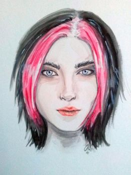 Fiora Watercolor by Makanierie